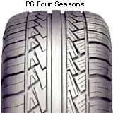 Летние шины Pirelli P6 Four Seasons